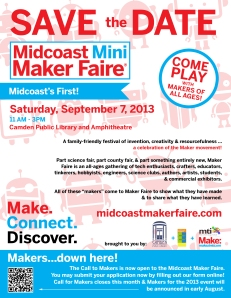 Save The Date for Maker Faire!