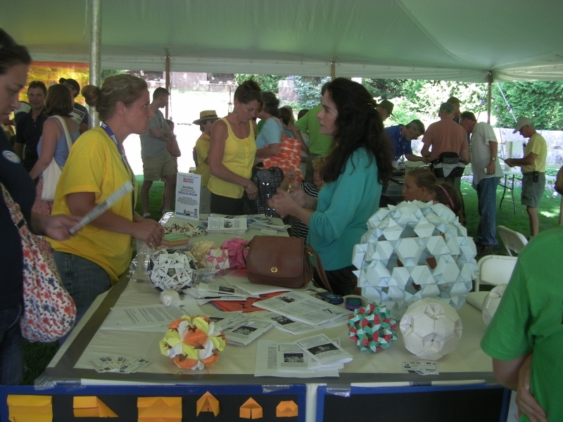 Maine Mathematics, Science and Engineering Talent Search - modular origami