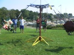 Arthur Haines' DIY Solar Powered Merry Go Round Swing